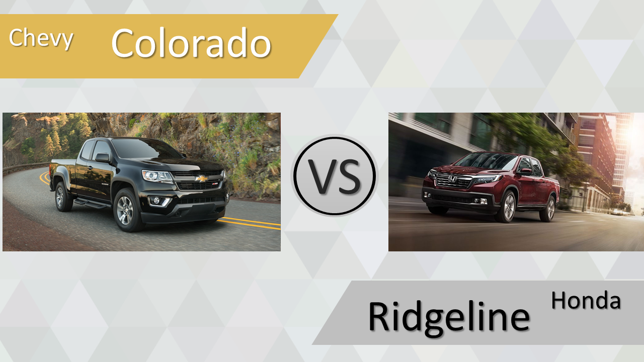 Olathe Chevy Colorado vs Honda Ridgeline