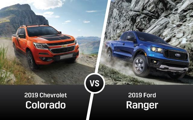 Chevy Colorado vs Ford Ranger