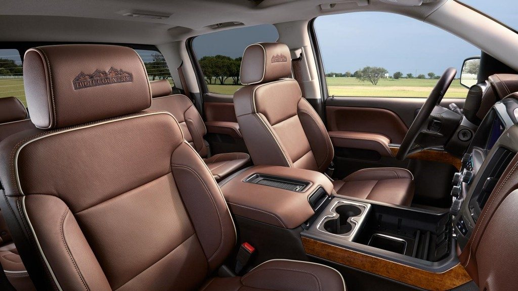 2016 Chevy Silverado Interior