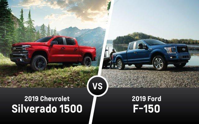 Chevy Silverado vs Ford F-150