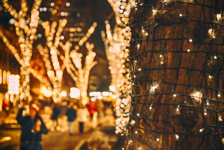 See Christmas Lights in Kansas City